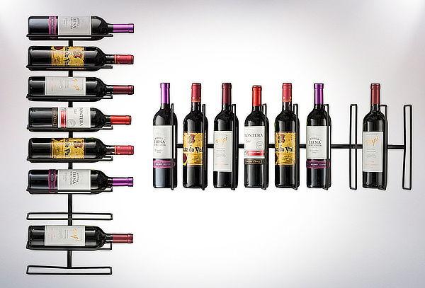 Rack de Acero para Botellas de Vino