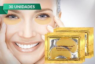 Pack 30 Máscaras Faciales Colágeno con Polvo de Oro