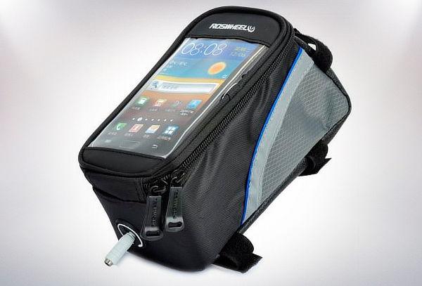 Bolso Porta Celular Bicicleta a Prueba de Agua