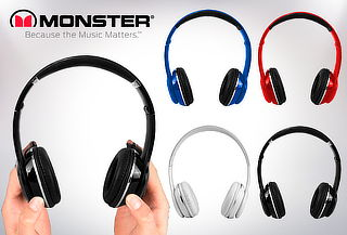 Audífonos Monster Audio, color a elección