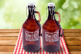 Pack de 2 Botellones Deco Cerveza