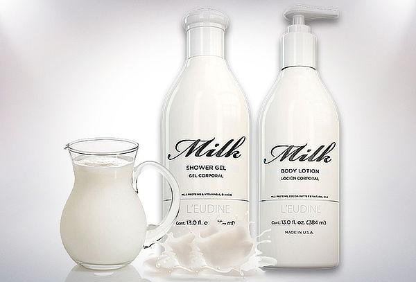 Pack Loción Corporal y Gel de Ducha Soft Milk de L'eudine