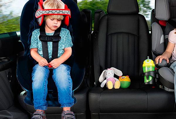 Sujeta Cabeza Niños para Silla de Auto NapUp