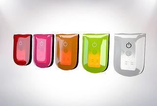 Luz Magnética para Ciclistas Wowow, Color a Elección