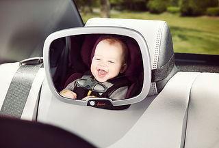 Espejo de Seguridad para Bebé con Luz Led, Diono