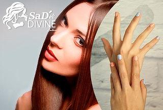 Alisado de Keratina de Mango + Manicure