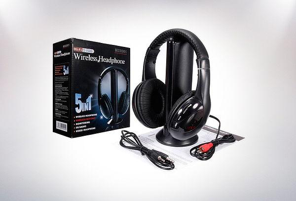 Audífonos Inalámbricos 5 en 1