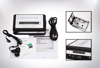 Convertidor de Cassettes a Audio MP3
