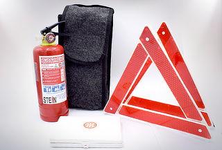 1 o 2 Packs Emergencias con Extintor Stein para Automóvil