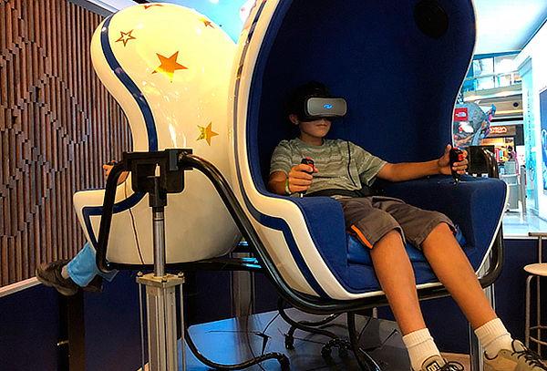 Experiencia Realidad Virtual 9D Rvolution, Mall Sport