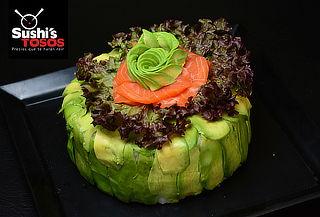 Torta de Sushi para 15 Personas a Elección