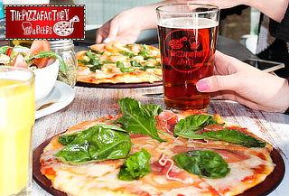 Pizza + Schop o Bebida en The Pizza Factory, Bellavista