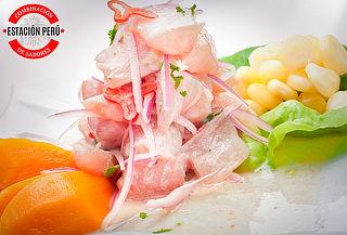 Menú para 2 o 4 Personas en Restaurant Estación Perú