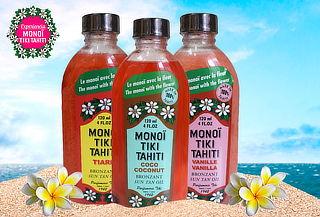 Aceite Corporal Monoï Tiki Tahiti, Aroma a Elección