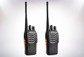 Set de 2 Radios Walkie Talkie
