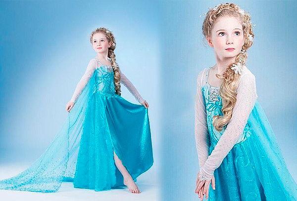 ¡Disfraces de Elsa y Ana de Frozen!