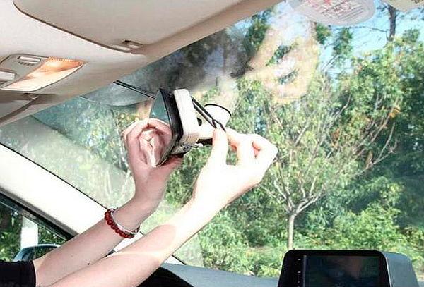 Espejo Retrovisor con Cámara Full HD para Automóvil