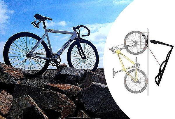 Gancho Porta Bicicletas para Pared