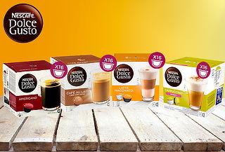 Pack 64 Cápsulas de Café Dolce Gusto Nescafé®, Variedades