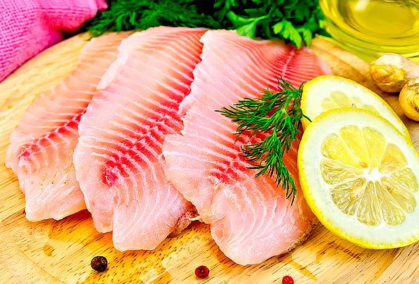 Orange Fish: 1 kg de Tilapia