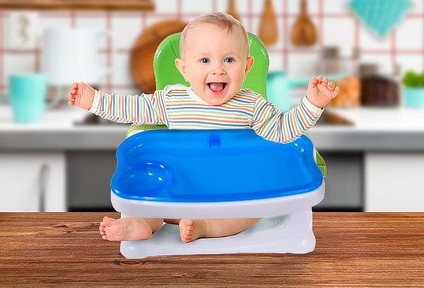 Silla de Bebé Portátil para Comer