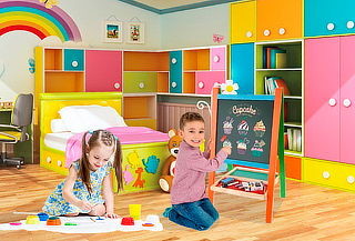 Pizarra Doble para Niños + Accesorios