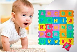 Puzzle de Letras Goma Eva