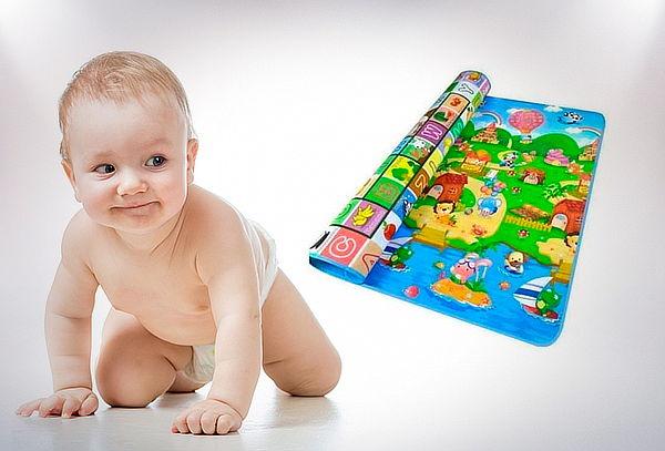 Alfombra Antigolpes Reversible para Bebés