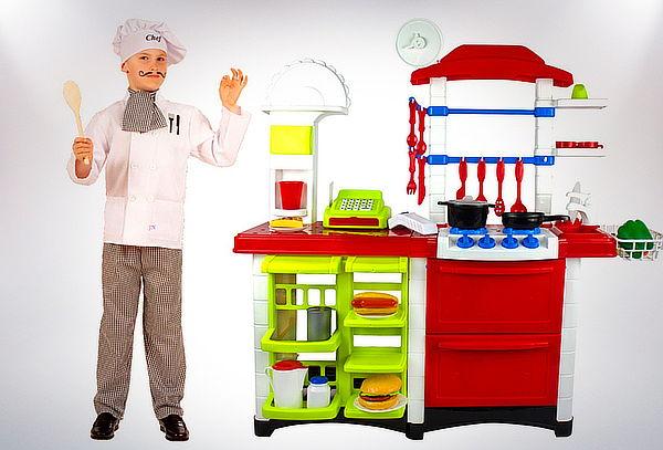 Set Cocina Supermercado Infantil