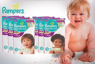 Pack 3 Paquetes de Pañales Pampers premium Care XG - XXG