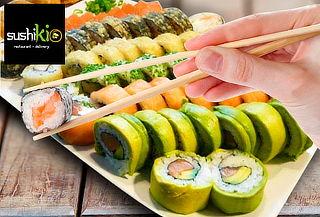 30, 60 o 100 Piezas de Sushi en Sushikio, Santiago Centro