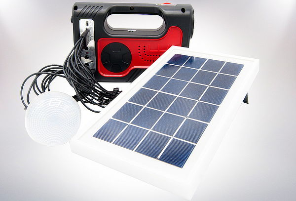Kit de Iluminación Solar para Emergencias