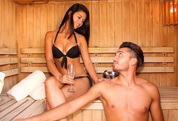 Día de Spa para Dos: Sauna, Jacuzzi, y más. Batuco