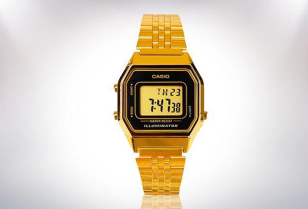 Reloj Casio Iluminator Unisex Dorado