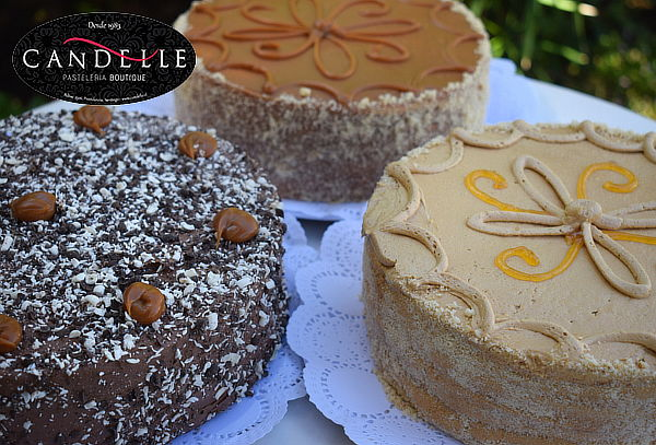 Torta para 20 o 30 Personas en Pastelería Candelle