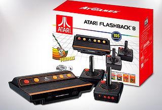 Consola Retro Atari Flashback 8 con 105 Juegos Integrados