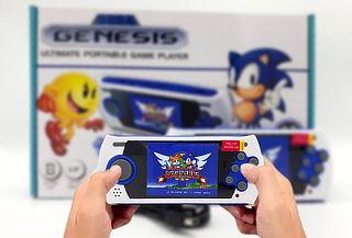 Consola Sega Genesis Portable con 85 Juegos Integrados