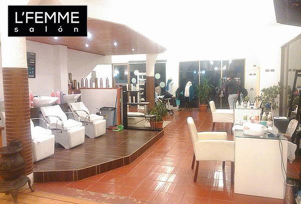 L'Femme Salón: Ondulación y Tinte de Pestañas, Ñuñoa