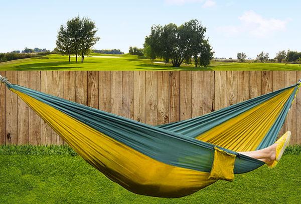 Hamaca Outdoor de Nylon Ultraresistente y Compacta