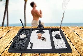 Set para Jardín Zen Miniatura