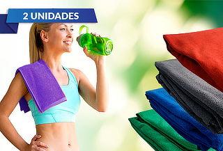 Pack 2 Toallas Deportivas 100% Microfibra