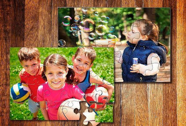 Pack 2 Rompecabezas con Fotografías Personalizadas + Regalo