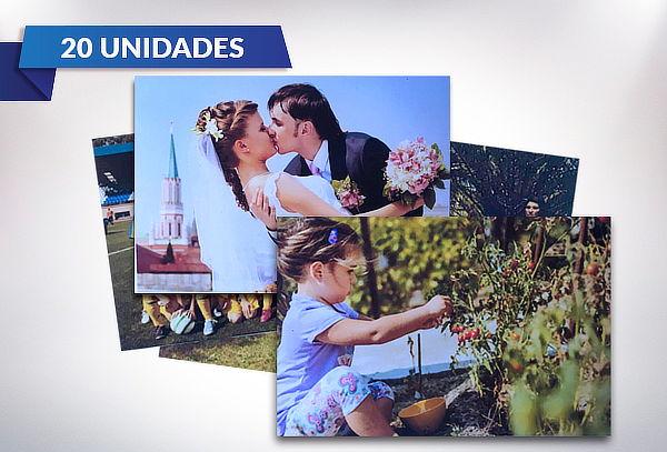 Set 20 Imanes con Fotografías Personalizadas + Regalo
