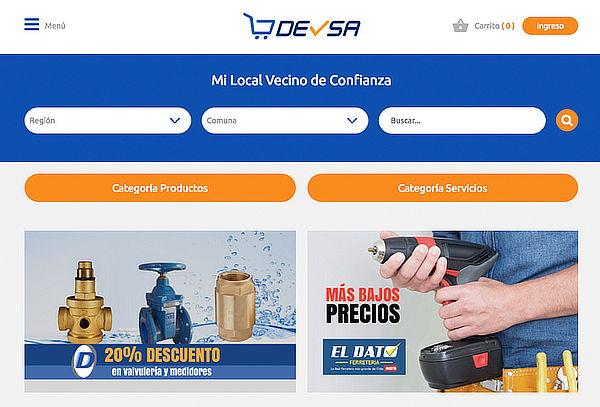 Página Web en DEVSA.NET + HOSTING por 1 Año