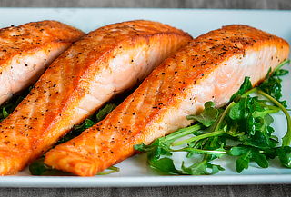 2 kg de salmon al merkén