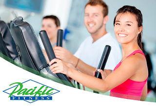Plan Anual Free Pass en Pacific Fitness Sin Restricciones!