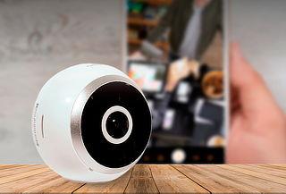 Cámara de Seguridad IP Wifi 3D Panorámico Iron Ball 960P