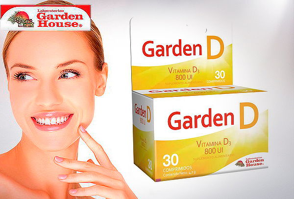 1 Caja de Vitamina Garden D, Garden House