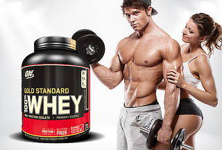 Whey Gold Standard 5 Lb. Doble Chocolate ON