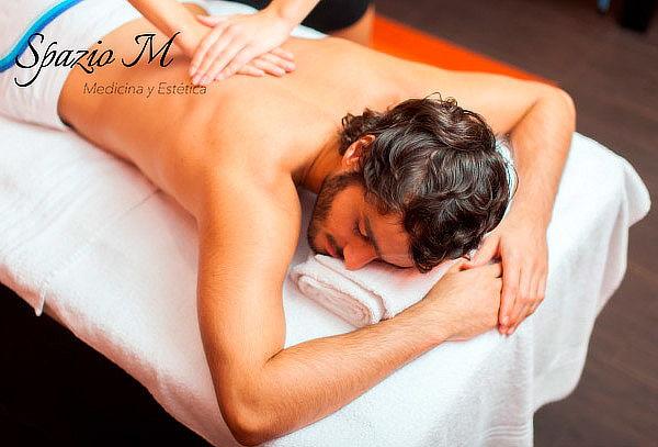 Masaje Descontracturante + Relajación Cuerpo Completo